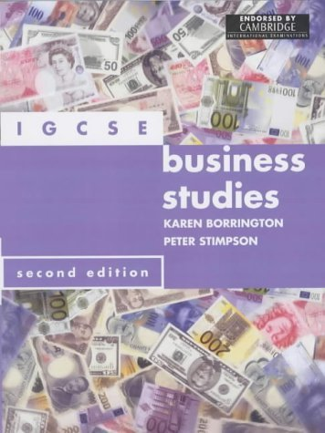 IGCSE Business Studies by Peter Stimpson (2002-06-26)