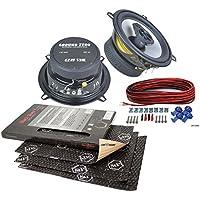Ground Zero Lautsprecher 130mm Koax Boxen für Smart ForTwo 98-02 Front
