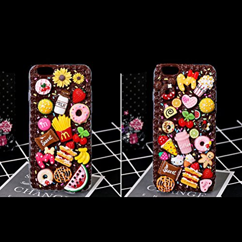 Harz Lebensmittel Flatback Cabochons Verschönerung Scrapbooking DIY lebensmittel für Handy Dekoration 100 Stücke (Rosa) (Abalone Bilderrahmen)
