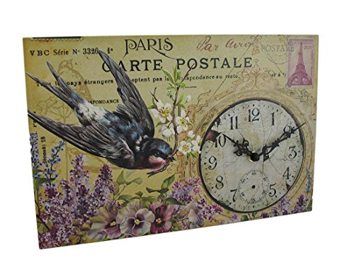 s Postkarte Thema Dekorative Wanduhr ()