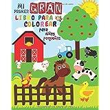 Mi Primer Gran Libro Para Colorear Para Niños Pequeños: Libro Para Colorear Para niños y niñas con 51 animales lindos | Mi pr