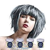 La Riche Directions semipermanente Haarfarbe Tönung 4er-Packung - Silber - für...
