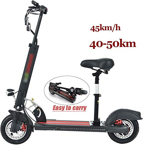 June Elektroroller Adult Folding E-Scooter - Geschwindigkeit 45Km / H Batteriedistanz 40-50km City Roller