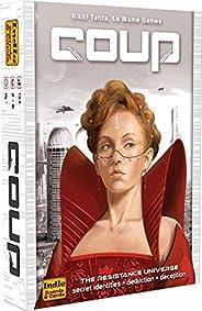 COUP IBCCOU1 Juguete Indie Boards & Cards, Versión en in