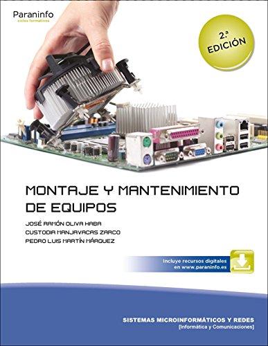 Montaje y mantenimiento de equipos 2.ª edición por CUSTODIA MANJAVACAS ZARCO