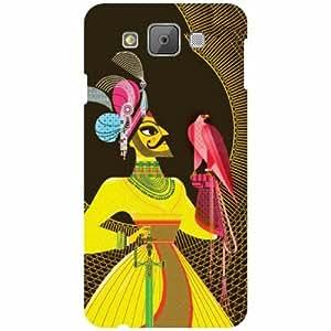 Printland Designer Back Cover for Samsung Galaxy E7 Case Cover