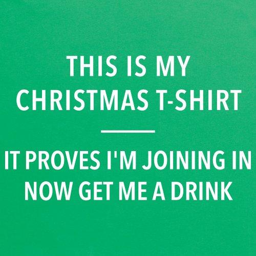 Christmas Party T-Shirt, Herren Keltisch-Grn