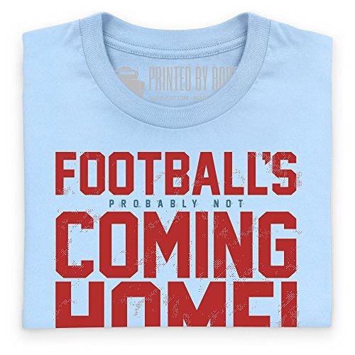 Football's Coming Home T-Shirt, Damen Himmelblau