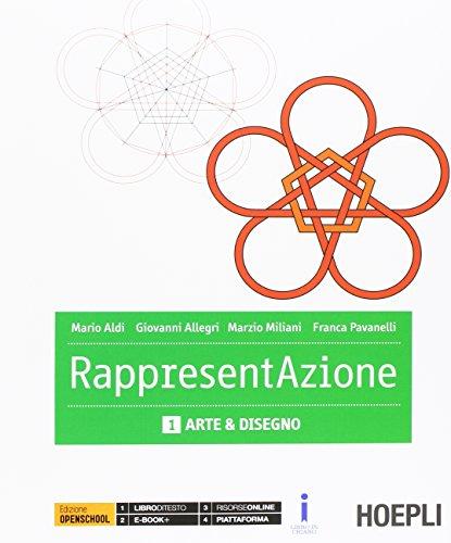 Rappresentazione. Vol. 1-2: Arte e deisegno-Architettura e disegno. Con e-book. Con espansione online. per gli Ist. tecnici per geometri