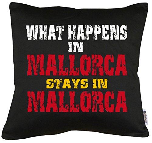 TLM Whats Happen in Mallorca... Kissen mit Füllung (Amy Big Kostüm Halloween Theory Bang)
