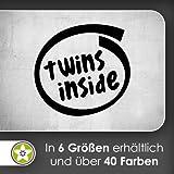 hauptsachebeklebt Twins Wandtattoo in 6 Größen - Wandaufkleber Wall Sticker