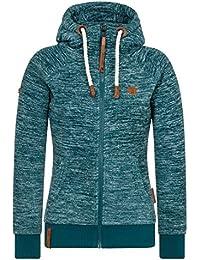 NAKETANO Kleines Äffchen Jacket for Women Brown