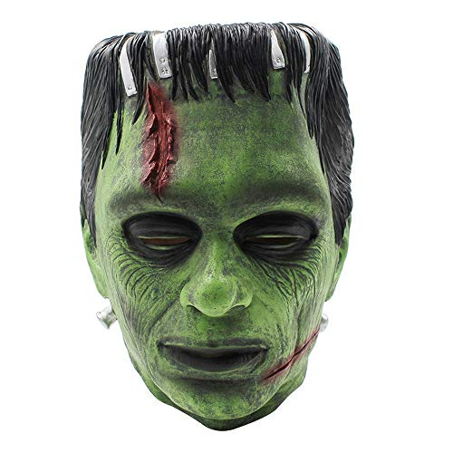 YEARYOWN Halloween Horror Mask Film Wissenschaft Frankenstein Alien Man Alien Mask Dance Party Scary - Alien Braut Kostüm
