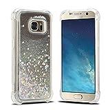 Coque Samsung S7 3D Liquid Etui Coque Silicone pour Samsung Galalxy S7 Flexible Glitter Housses Etuis Téléphones Souple TPU Gel Cases Covers Couverture Transparent Choc Mince Légère Protection