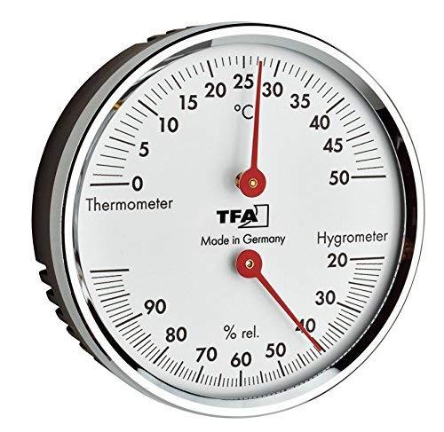 TFA-Dostmann Thermo-Hygrometer TFA 45.2041.42 für ein besseres Wohn und Raumklima