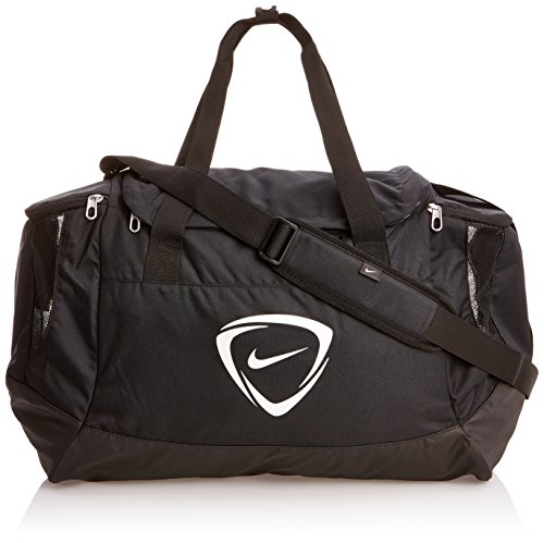 Nike Club Team Duffel OS Borsa Grande da Palestra, Nero/Black-White, L