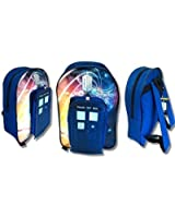 Doctor Who dr 'Tardis' PVC Front 50th anniversary Backpack exclusive Design