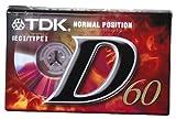 TDK Audiocass D 60Min T02450 Singolo