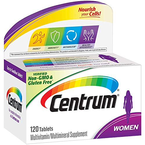 Centrum Women Multivitamin and Multimineral Supplement 120 Tablets
