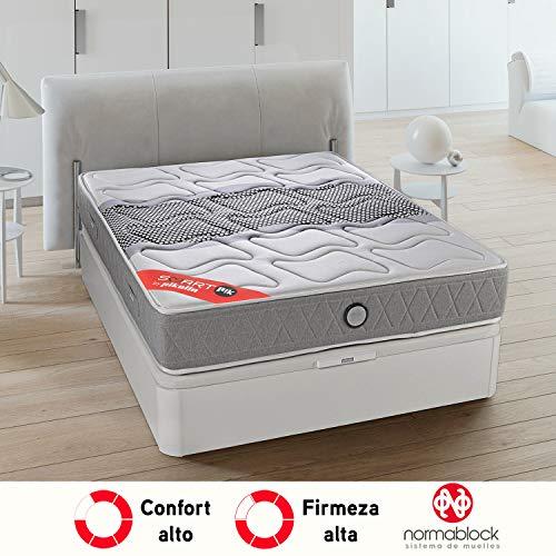 PIKOLIN SmartPik 160x200 Smart Matratze, fortschrittliche Federn mit Progressionsviskose, hohe Festigkeit, maximaler Komfort, 28 cm - Sternmatratzen