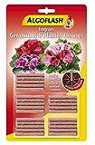 ALGOFLASH Engrais Bâtonnets Géraniums et Plantes Fleuries, Action jusqu'à 3 mois, 25 bâtonnets, ABABACA