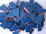900g Bruchmosaik, Mosaikfliesen aus handgefertigten Fliesen - petrol