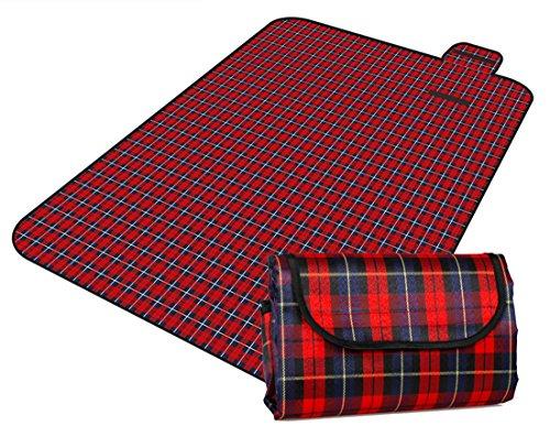 Honeystore 200*150 Oxford Yoga Matte Strand Ausflug Picknickdecke mit wasserabweisender Unterseite A02