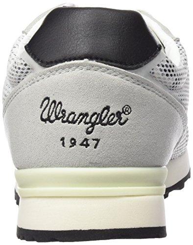 Wrangler - Runway Mesh, Scarpe da ginnastica Donna Bianco (Weiß (307  White / Tropical))