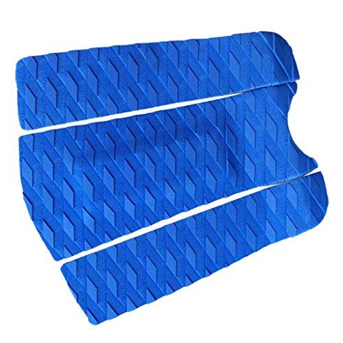 Baosity 3Pcs Surfboard/Shortboard/Skimboard Tail Pad Traction Deck Grip Surf Pad