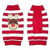 Roblue Hundemantel Weihnachten Motiv Hunde Winterkleidung Elegante Hundebekleidung für kleine Welpen Hunde Kleider Bekleidung