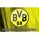 NATHALIE LANCASTER 036 Borussia Dortmund 38x24 inch Silk