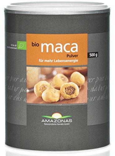 Amazonas Naturprodukte Bio Maca Pulver, In Rohkostqualität, Schonend Verarbeitet, Direkt Vom Spezialisten, 100 g