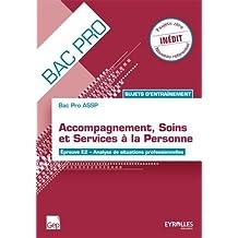 Bac Pro ASSP : Sujets d'entraînement, Épreuve E2 - Analyse de situations professionnelles