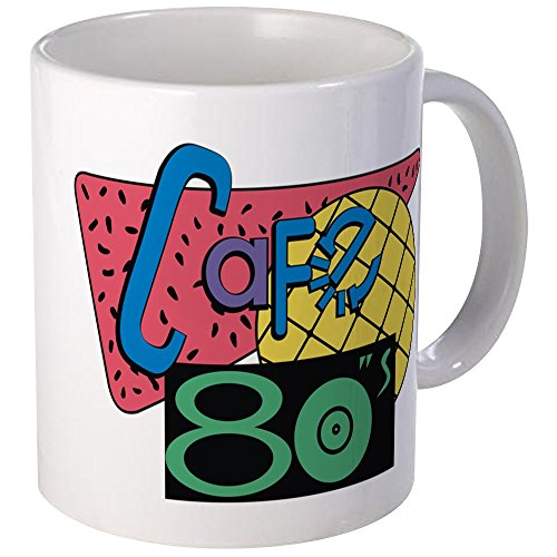 Cafe 80s Colour Changing Coffee Mug