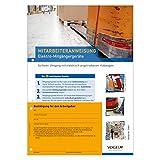 10er Pack Mitarbeiteranweisungen Elektro-Mitgängergeräte Hubwagen elektrisch Unfallverhütung Anweisung Verhaltensregeln Arbeitsschutz Arbeitssicherheit