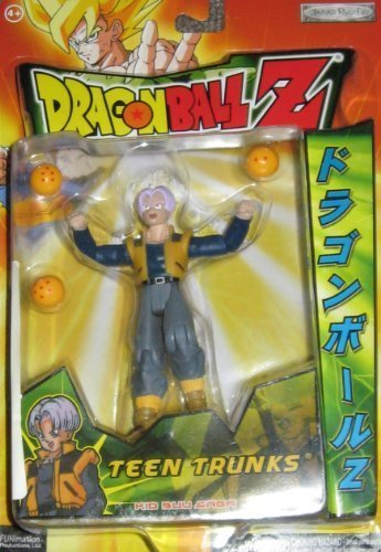 Dragon Ball Z Teen Trunks 5 Action Figure (Kid Buu Saga - Series 14) by action figure dragon ball