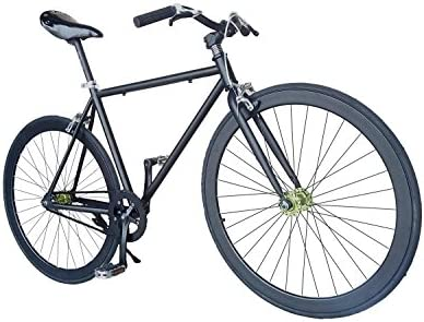 Wizard Industry Helliot Soho 5303 - Bicicleta fixie, cuadro de acero, frenos V-Brake, horquilla acero y ruedas de 26