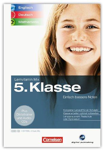Lernvitamin Mix - Englisch/Deutsch/Mathe 5. Klasse