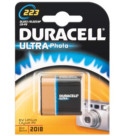 Duracell - Pile photo au lithium - DL 223 (Import Allemagne)