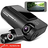 Thinkware F770 Dash CamFull HD 1080p Frontand RearCar Camera Dashcam- Super Night Vision, Includes32GBSD Card & Hardwire lead for Battery Safe Parking Mode Install - Android/iOS App