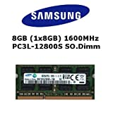 Samsung 8GB DDR3 1600MHz SO Dimm Low Voltage Notebook Laptop