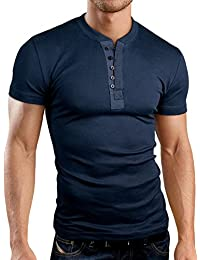 Grin&Bear coupe slim contrast col à bouton Shirt, BH127
