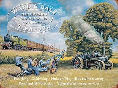 ward-dale-sleaford-steam-wandschild-ploughing-field-lokomobile-dampflokomotive-going-vergangenheit-f