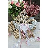 Streukörbchen Blumenkörbchen LOVELY WEDDING