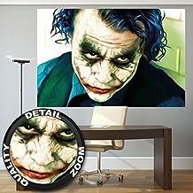 Comodín el caballero de la noche asciende Batman película có mic fotomurales decoració n de la pared de by GREAT ART (210 x 140 cm)