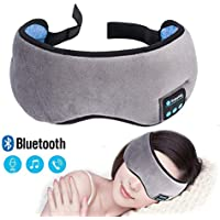 Preisvergleich für Bluetooth-Schlafaugenmaske Kopfhörer, Wireless Music-Kopfhörer, Reise-Schlaf Augenbinde Schlafhilfe Für Damen/...