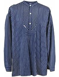 Fischerhemd Original breit gestreift Finkenwerder