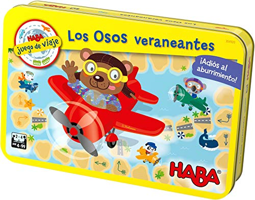 HABA- Juego de Mesa, Los Osos Veraneantes, (Habermass H304920)