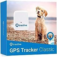 Tractive TRATR1 GPS-spårare för Hundar, Vit