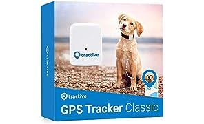 Tractive Localizzatore GPS per animali domestici, Bianco, Taglia Unica